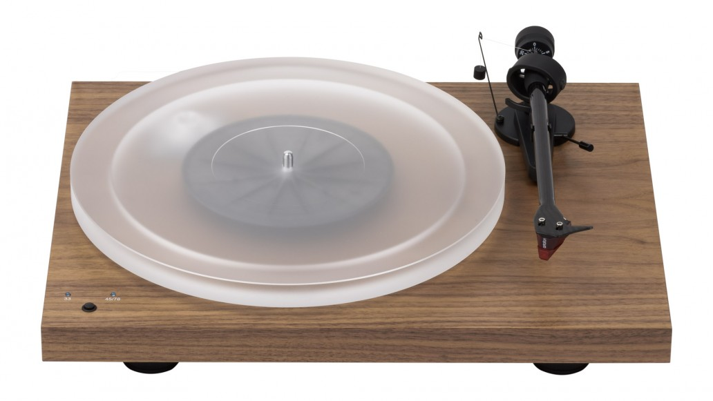 Pro-Jec Debut RecordMaster HiRes Turntable - Walnut