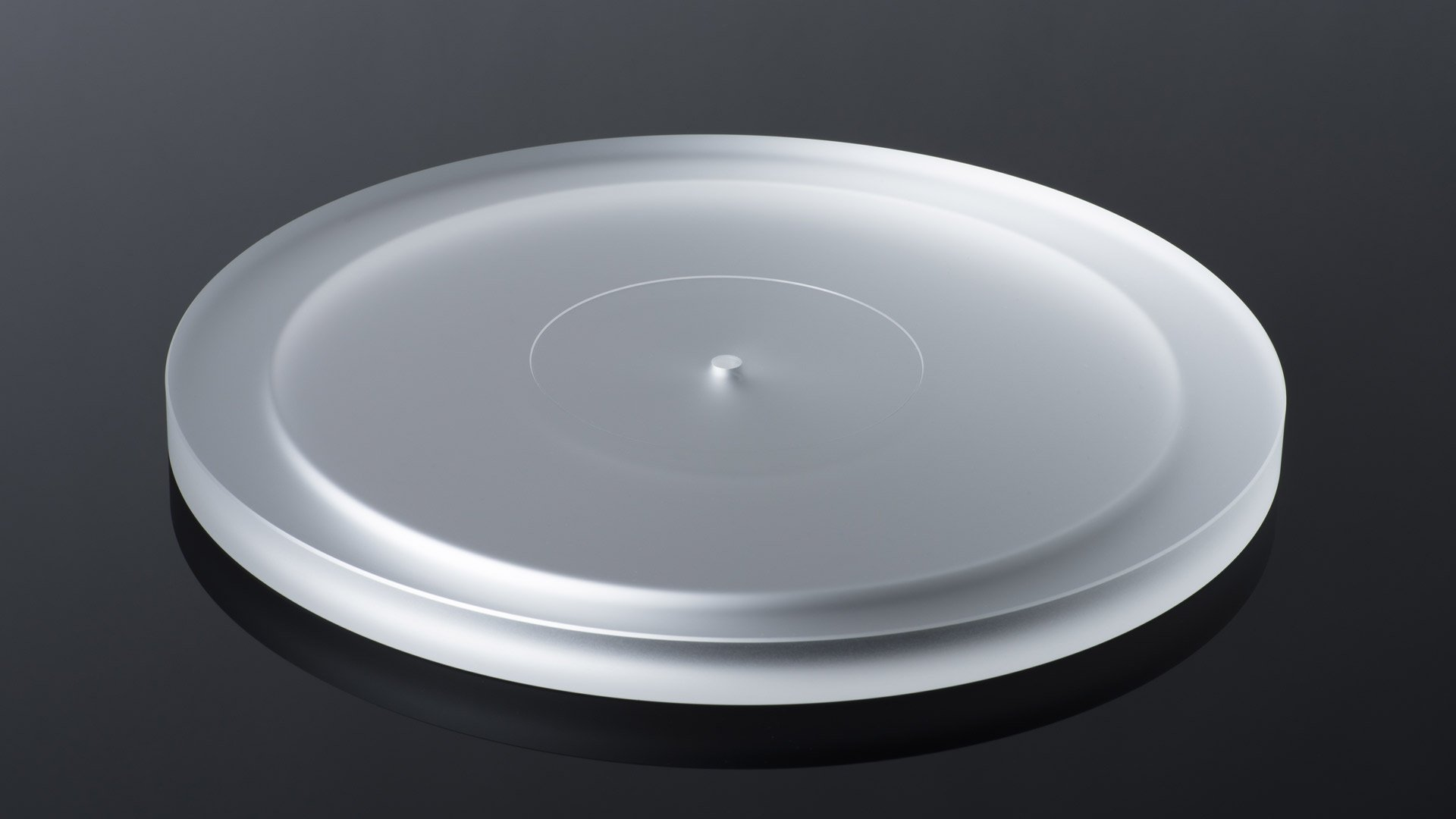 Acrylic Platter for Debut Carbon RecordMaster HiRes