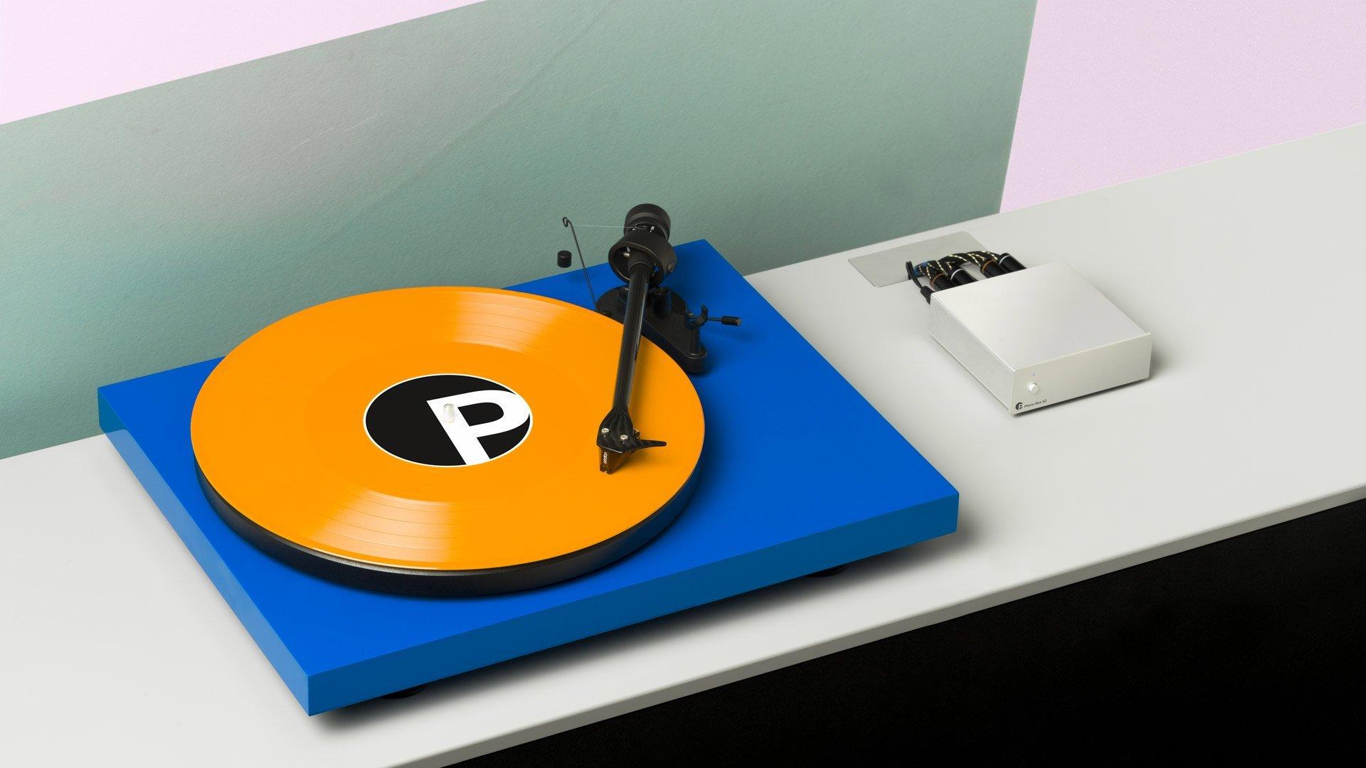 vinyl playback pro ject record player