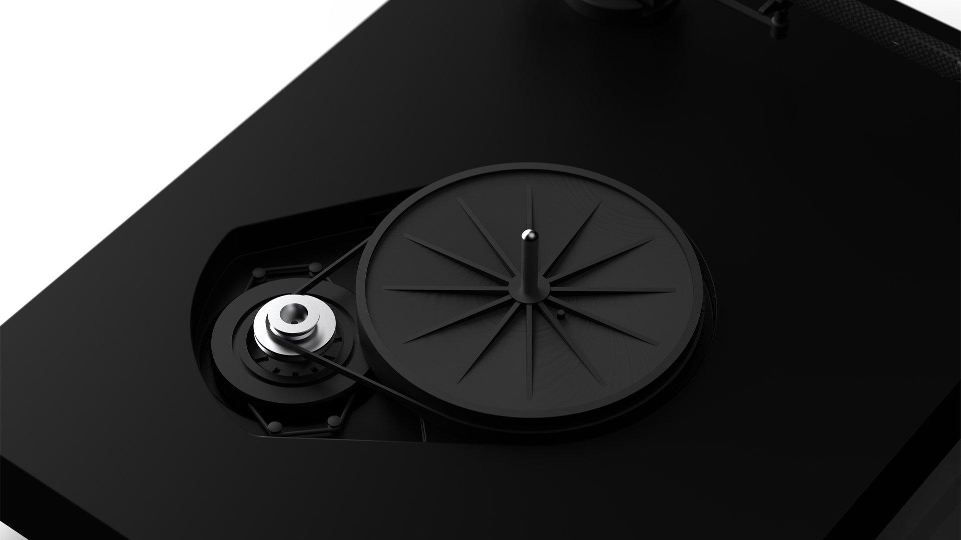 X2 Motor & Sub-Platter
