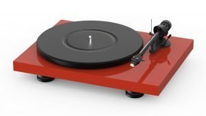Red Turntable