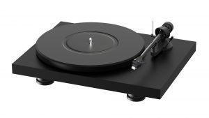Black Turntable