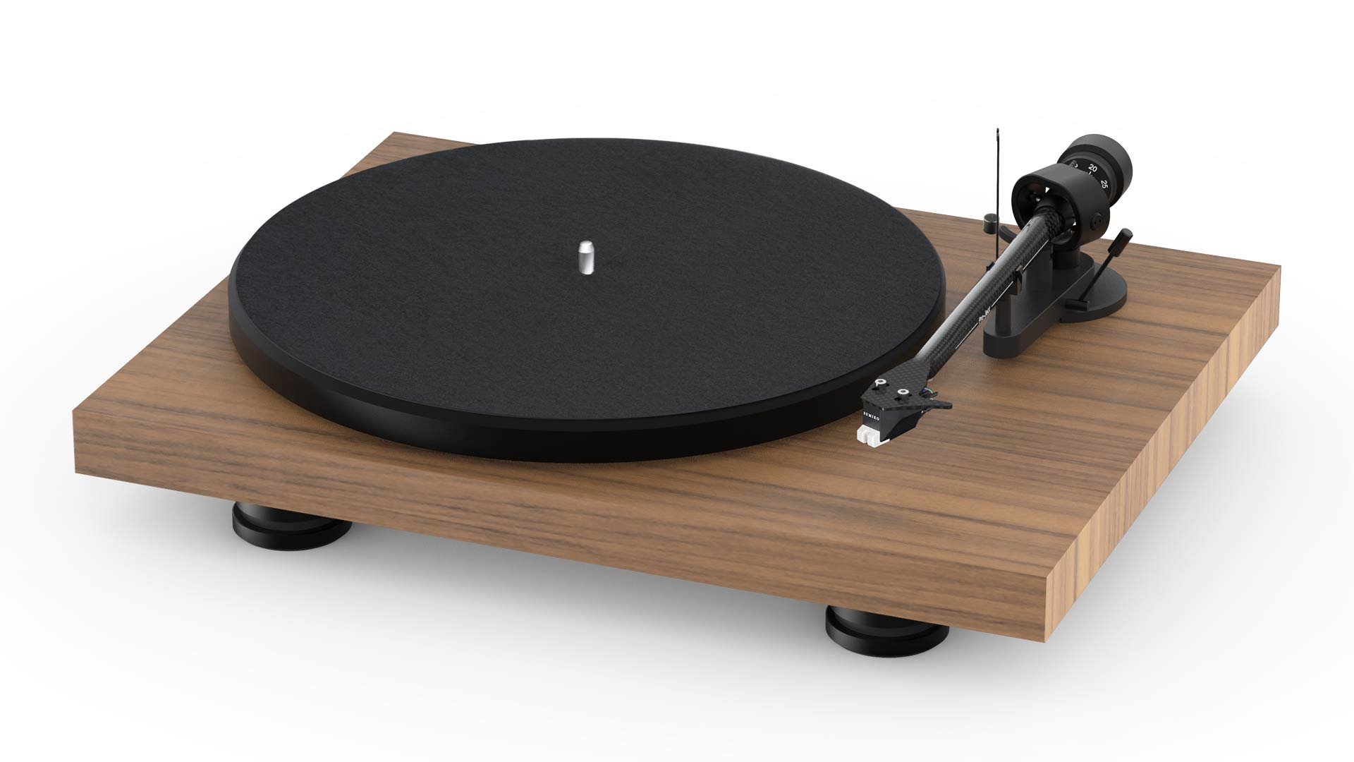 Pro-Ject Audio Debut Carbon Evolution Audiophile Turntable - Satin Walnut