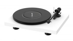 White Turntable