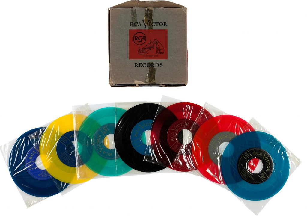 45 RPM RCA collection