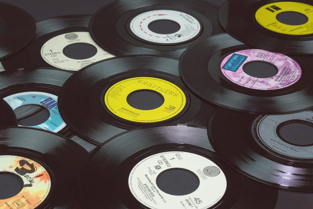 45rpm vinyl records EPs